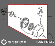 Pull_Start_ _ATV_Hisun_400 700cc_1