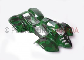 Green Plastic Fender Body Kit for 50cc/110cc, 802/Mini Spyder, ATV Quad 4 Stroke - 802SpyderGreen