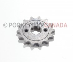 Front Sprocket 420#14 Tooth for 50cc/70cc/90cc/110cc 4-Stroke Mini ATV Quad - G1010038