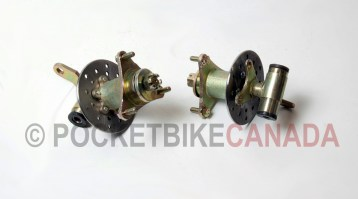 Front Spindle Set Incl. Rotor, Hub for 110cc, T1 Rebel, ATV Quad 4-Stroke - G1020014