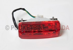 Rear Taillight Red Brake Lamp for 110cc, T1 Rebel, ATV Quad 4-Stroke - G1020015