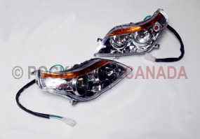 Headlight Set 3 Bulbs for 110cc, YK110/Mini Hummer II, ATV Quad 4-Stroke - G1040017