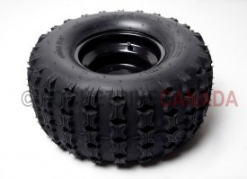 18x9.50-8 QingDa Tire & 4 Hole Black Rim for ATV - G1050011_1